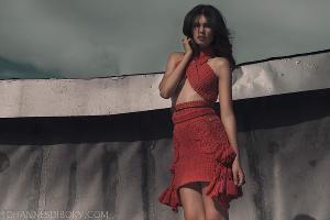 Платье работы Сандро Масманиди ©Фото из архива Сандро Масманиди