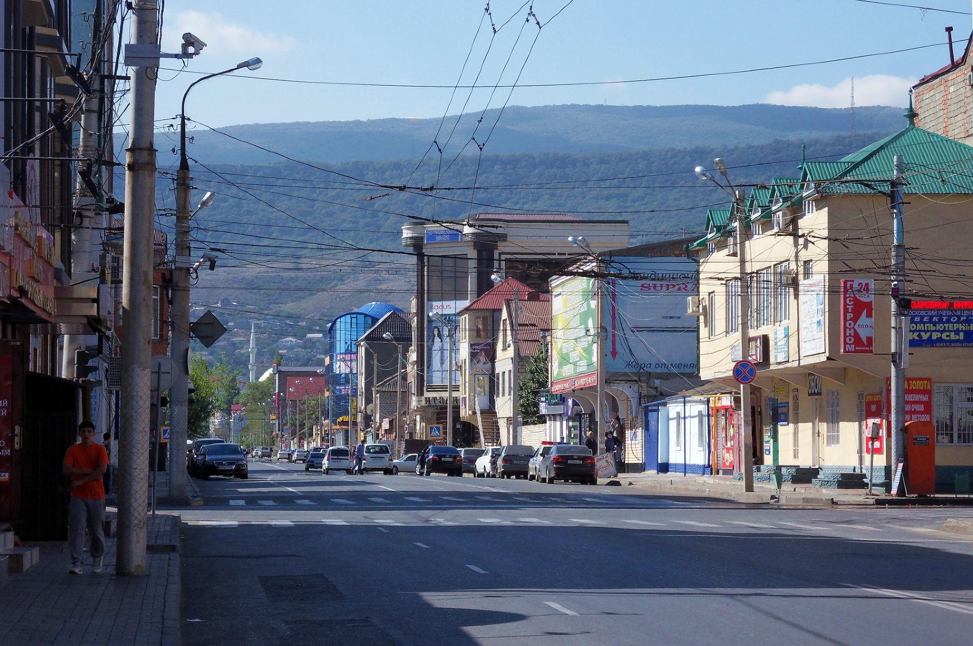 ВМахачкале возникла 2-ая улица имени Ахмата Кадырова