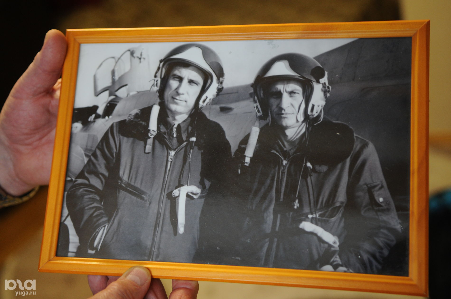 Николай Адонин (слева) с сослуживцем ©Фото Юга.ру