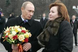 Владимир Путин и Людмила Путина ©news.bigmir.net