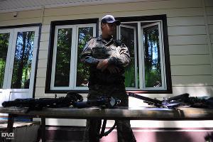 """Полицейские провели акцию """"Кубань - территория безопасности"""" в Северском районе ©Елена Синеок, ЮГА.ру"""