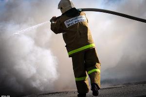 Пожар ©Фото Елены Синеок, Юга.ру