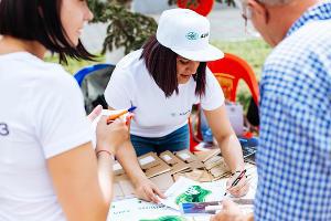 Экологические акции ©Фото пресс-службы АЭМЗ