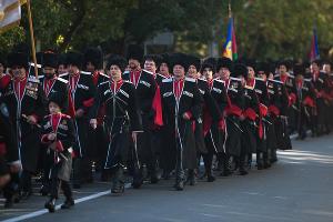 Парад казаков на День города в Сочи ©Фото Юга.ру
