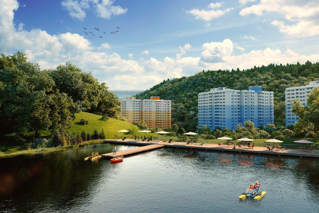 AVA Group построит вСочи жилой комплекс «Министерские озера»