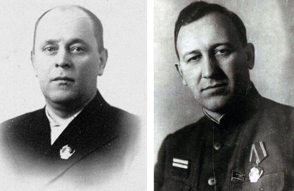 Петр Селезнев и Павел Тюляев ©Фото с сайта waralbum.ru