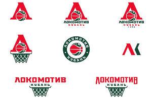 Логотипы и леттеринги «Локомотив-Кубань» ©Фото Михаила Антипина в блоге sports.ru/tribuna/blogs/reforma