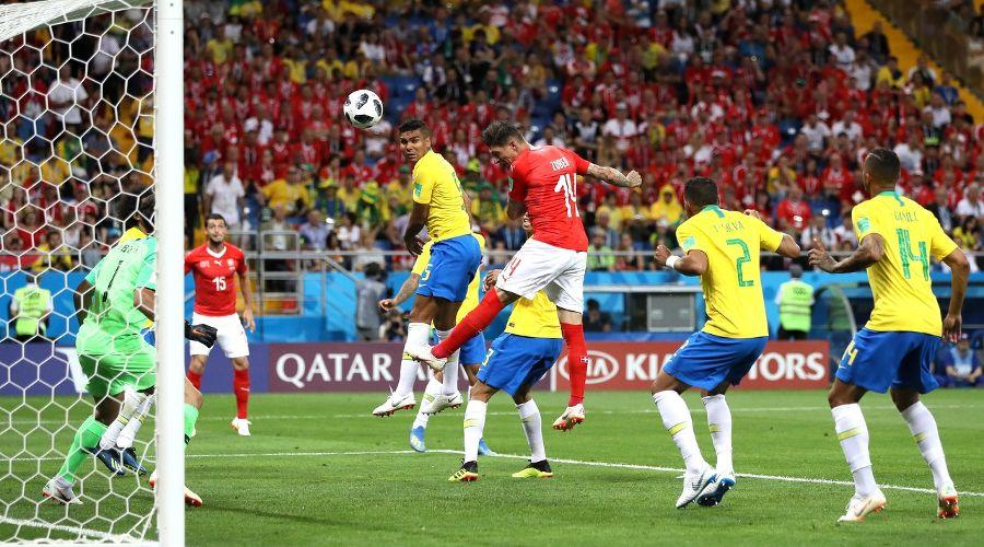 Матч Бразилия — Швейцария на «Ростов-Арене» ©Фото с сайта ru.fifa.com