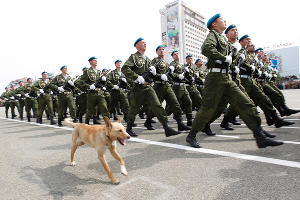 Парад Победы в Ставрополе ©Фото Юга.ру