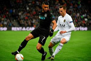 Матч Лиги Европы «Краснодар» — «Валенсия» ©Фото с сайта ru.uefa.com