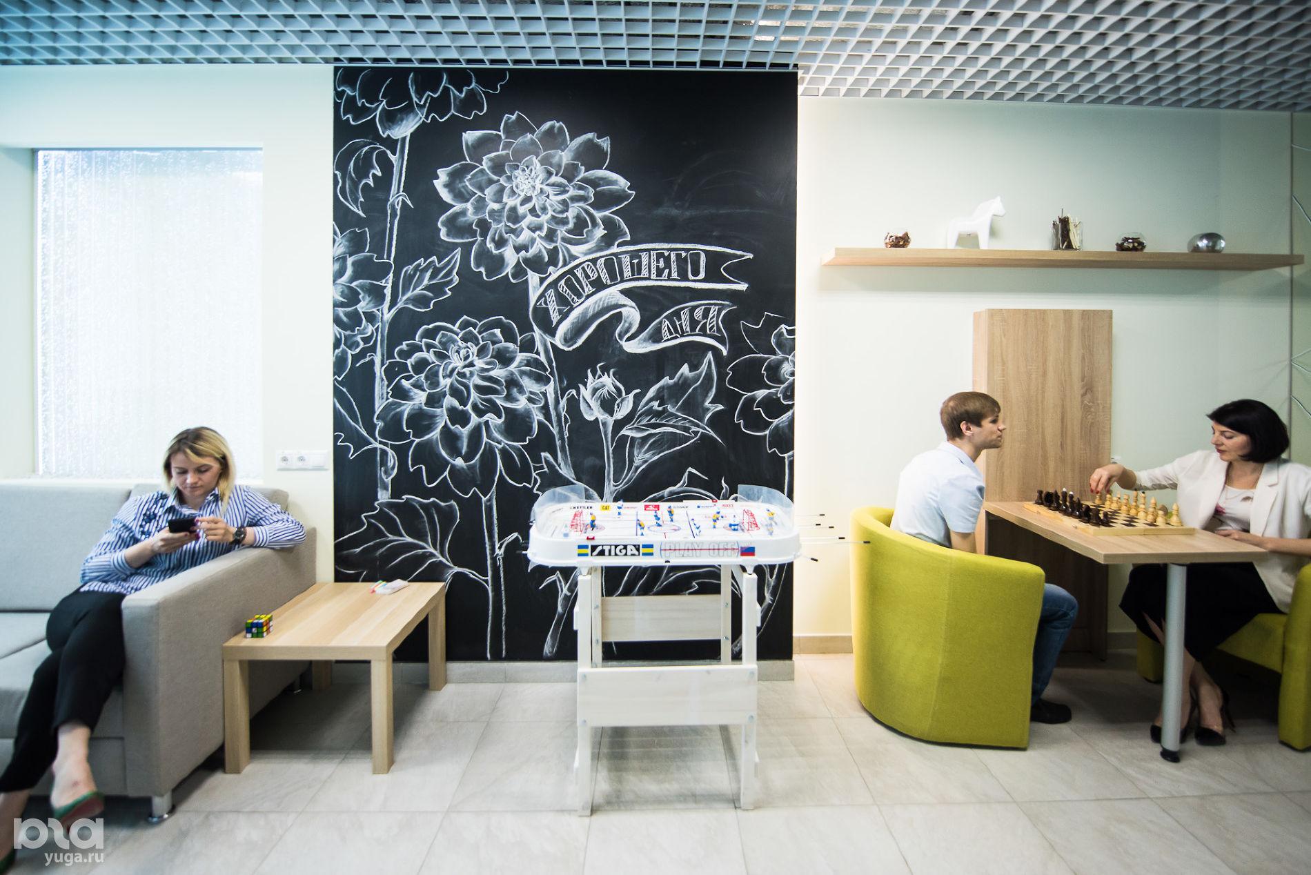 Головной офис компании «Магнит». Friendly Office: комнаты отдыха ©Фото Елены Синеок, Юга.ру