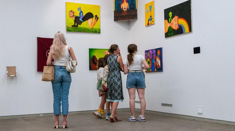 Выставка «Непослушницы» ©Фото Дмитрия Пославского, Юга.ру
