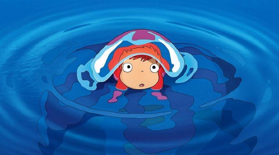 Кадр из мультфильма «Рыбка Поньо на утесе», реж. Хаяо Миядзаки, 2008 год ©Фото с сайта kinopoisk.ru
