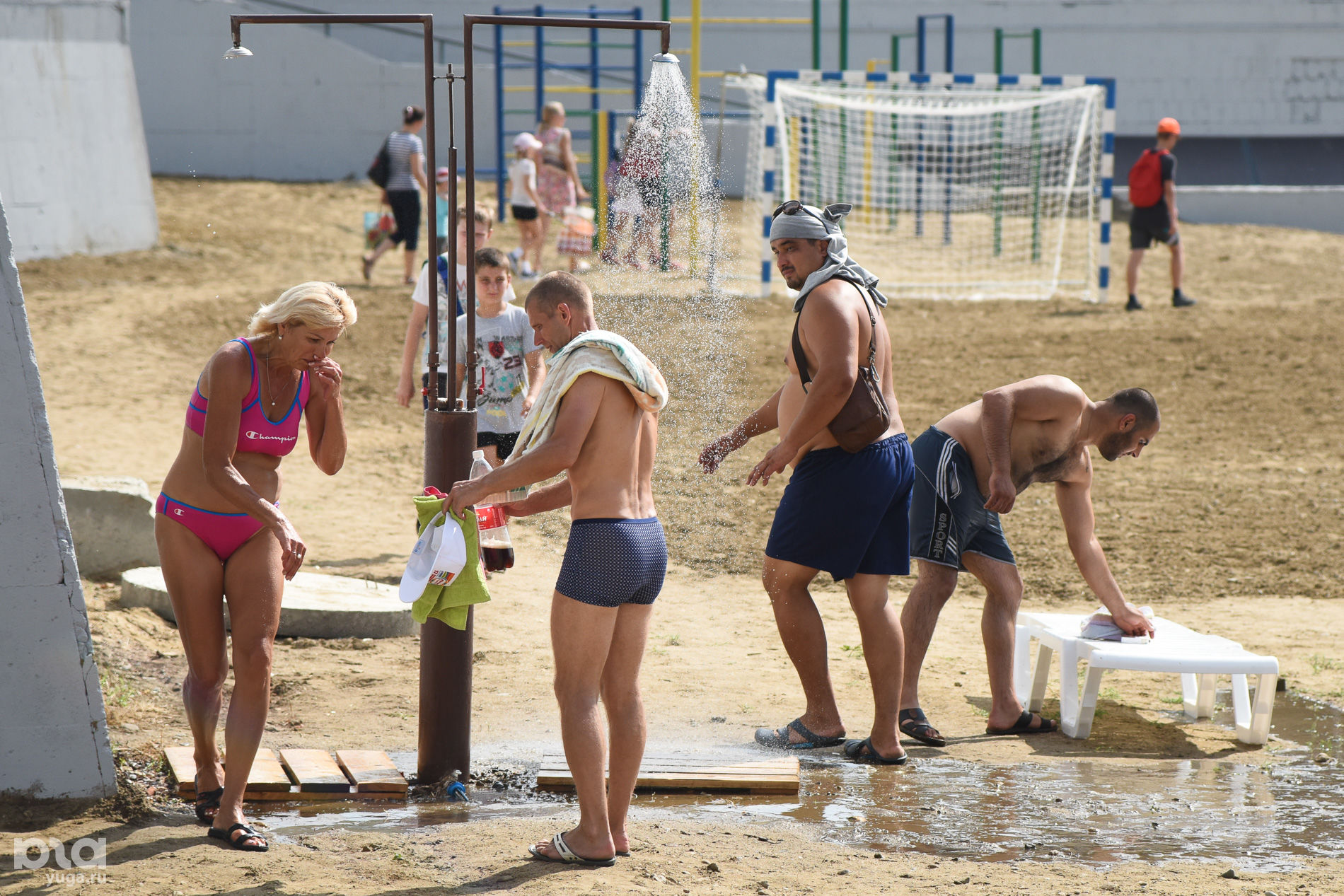 Открытие краснодарского пляжа фото
