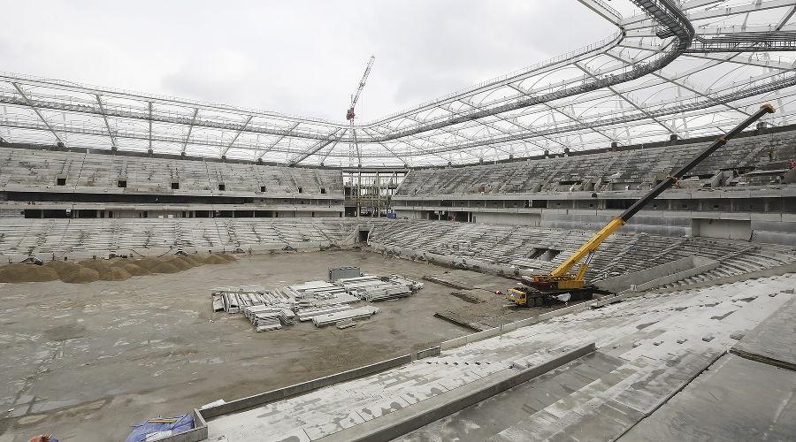 Стадион «Ростов-Арена» ©Фото пресс-службы губернатора Ростовской области