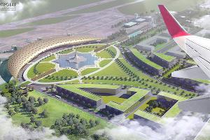 Проект международного аэропорта в Грозном ©Изображение с сайта smbuil.ru