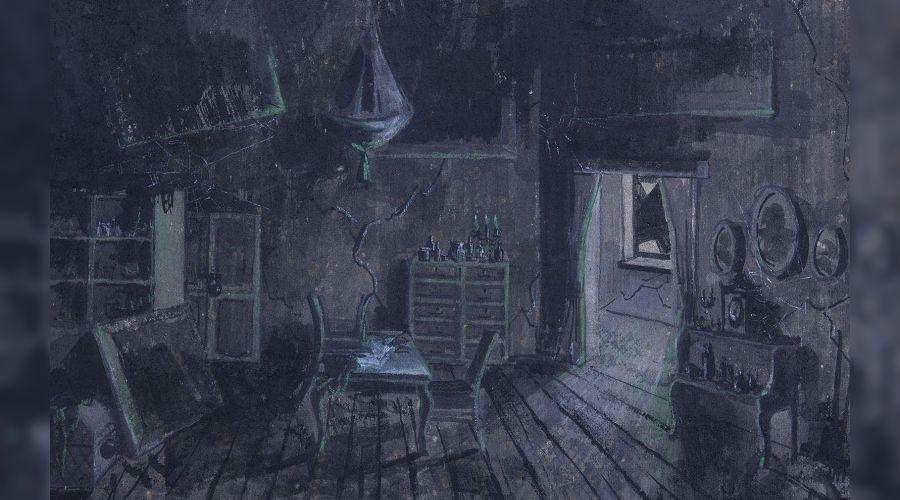 "Картина Фокина ""В доме Плюшкина"" ©Пресс-служба министерства культуры Краснодарского края"