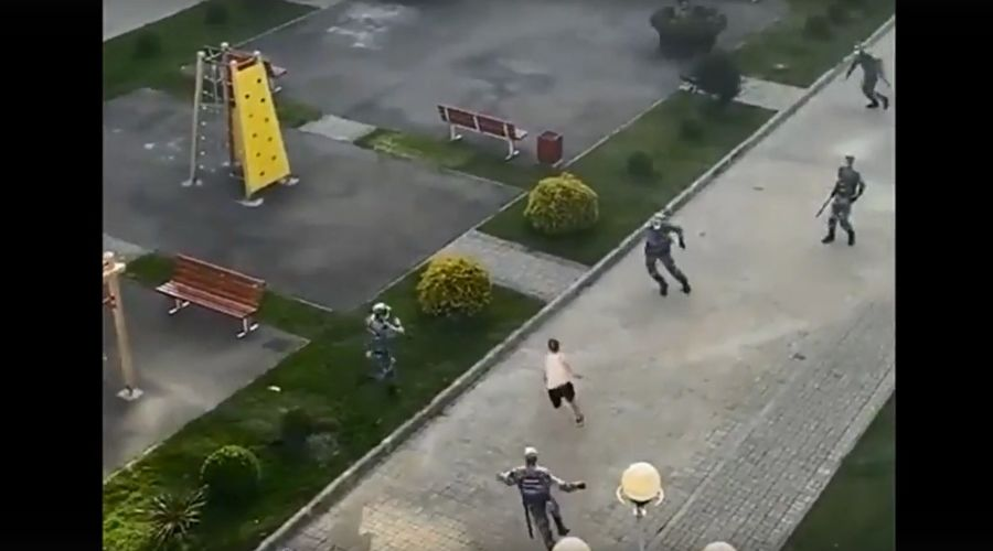 ©Кадр из видео в телеграм-канале «Сочи онлайн», tmtr.me/gorodsochi