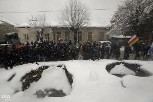 Митинг в поддержку Аллы Джиоевой ©Сергей Карпов. ЮГА.ру