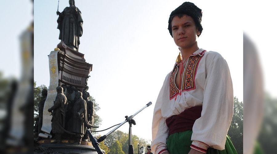 Памятник Екатерине II в Краснодаре ©ЮГА.ру