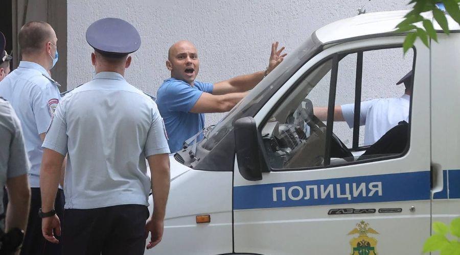 ©Фото из телеграм-канала «Свободу Пивоварову», https://t.me/freepivovarov