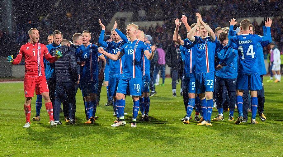 Сборная Исландии по футболу ©Фото с сайта ru.fifa.com