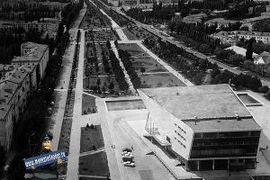 Исторический вид на старый кинотеатр ©Фото из презентации пресс-службы администрации Краснодара