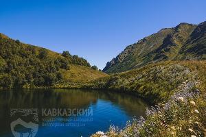 Озеро Малое (июль 2019) ©Фото пресс-службы Кавказского заповедника