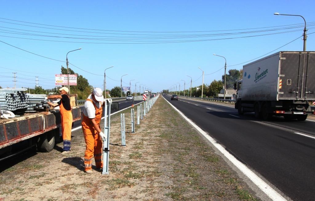 ВРостове реконструируют южный подъезд кгороду