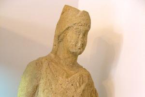 Синдский воин. Известняковая скульптура, I век н.э. ©Общественное достояние