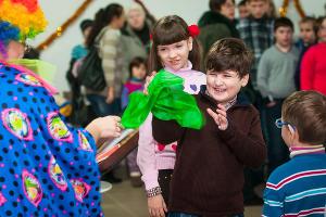Праздник для детей-инвалидов в Краснодаре  ©Елена Синеок, ЮГА.ру