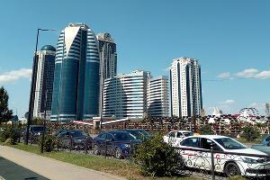 Город Грозный. Чеченская республика ©Фото Евгения Мельченко, Юга.ру