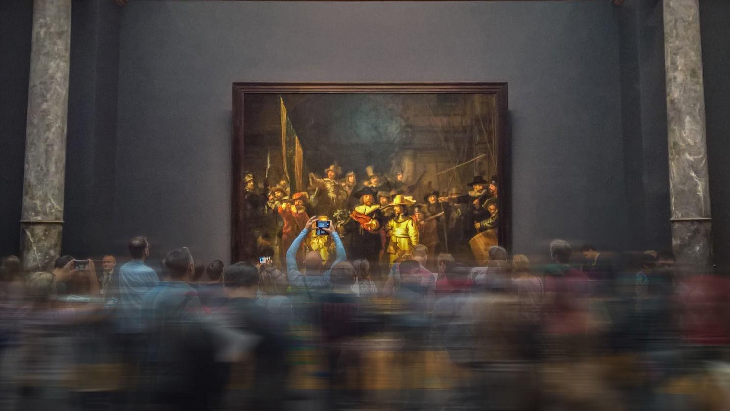 Выставка в музее Rijksmuseum, 2017 ©Фото Václav Pluhař, unsplash.com