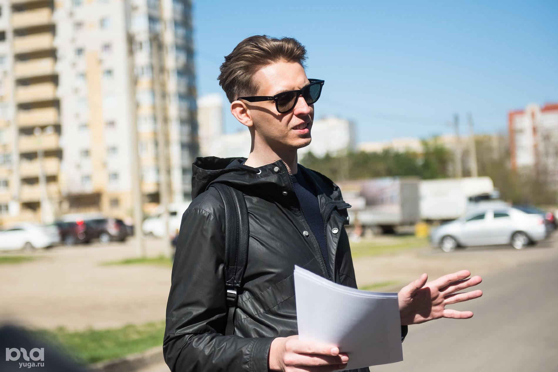 Архитектор Алексей Тимофеев ©Фото Елены Синеок, Юга.ру