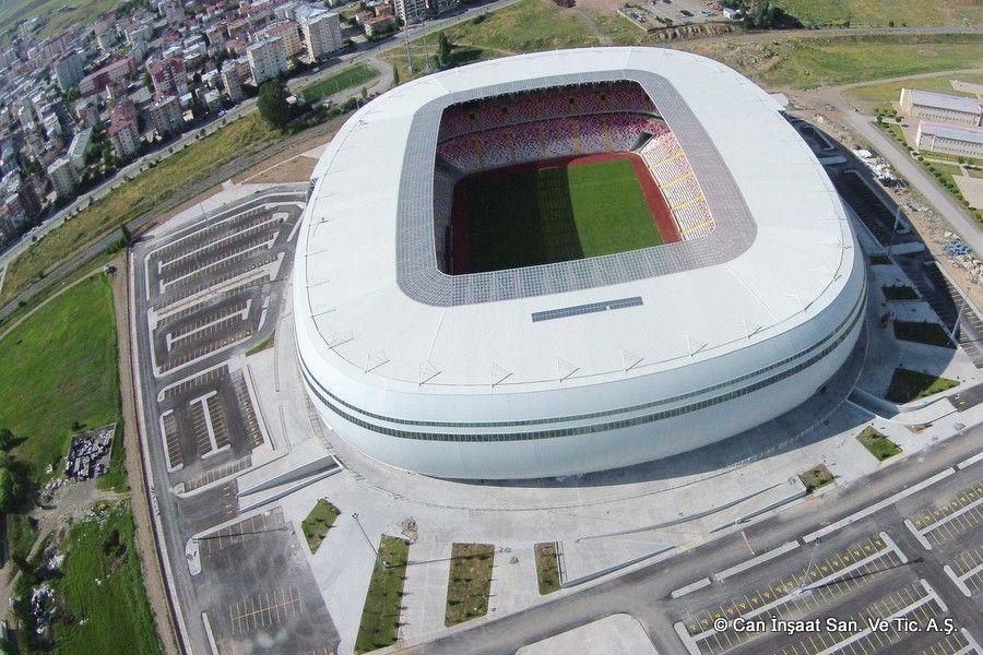 «Сивас Арена» (Сивас) ©Фото сaninsaat.com.tr