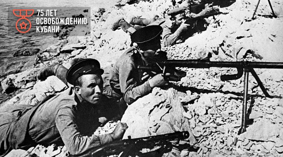 Морские пехотинцы из отряда Куникова ©Фото с сайта waralbum.ru