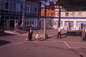 Конечная точка маршрута — автовокзал в Грозном ©Фото Евгения Мельченко, Юга.ру