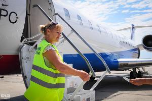 Наземные службы аэропорта ©Фото Елены Синеок, Юга.ру