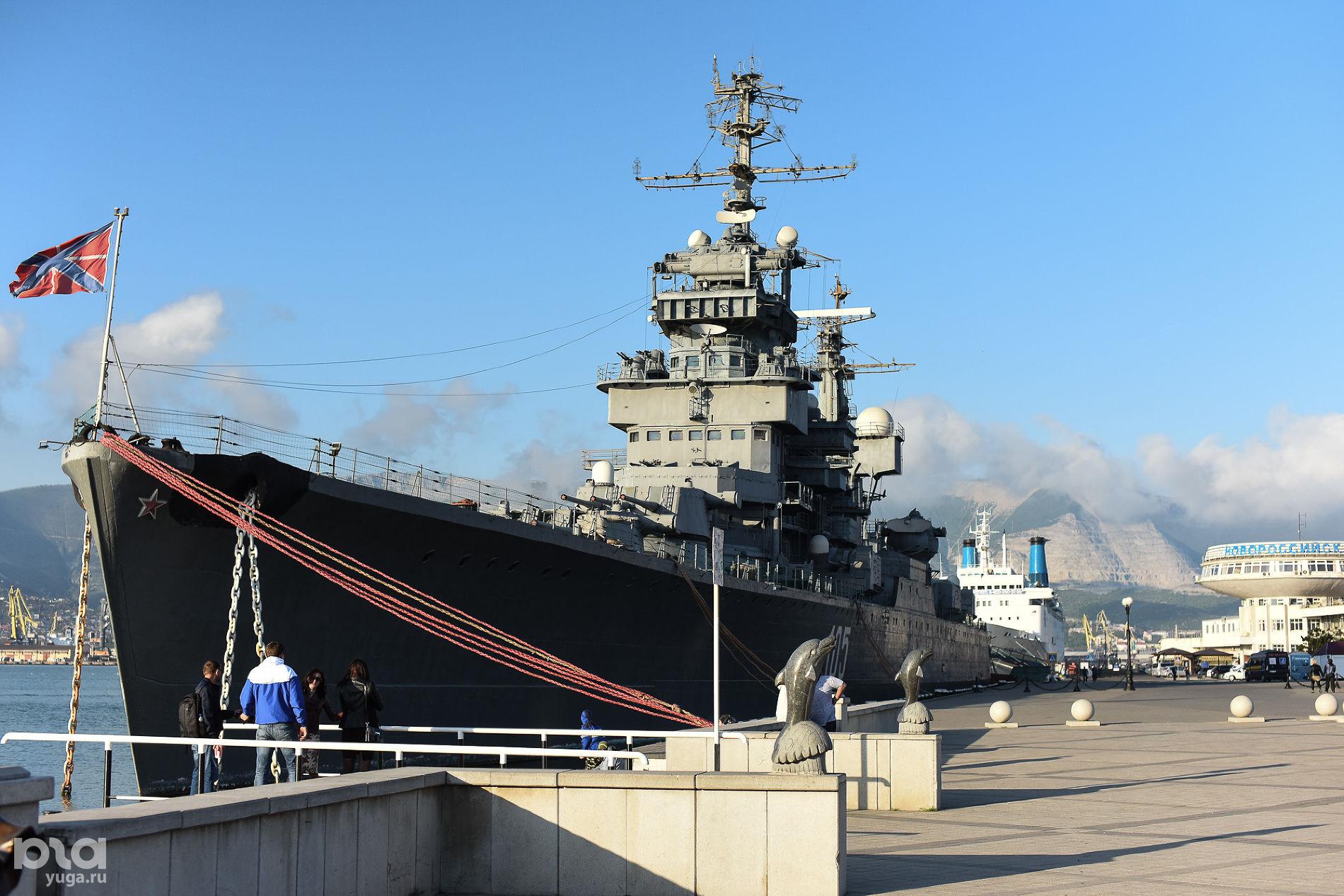 Крейсер «Михаил Кутузов» ©Фото Елены Синеок, Юга.ру