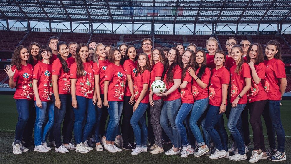 Набор волонтеров наЧМ-2018 установил новый рекорд Чемпионатов мира пофутболу