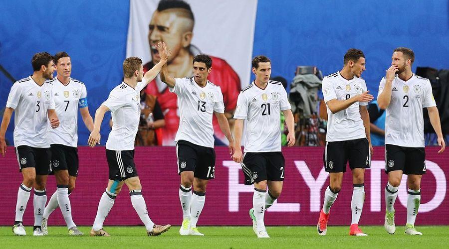 Сборная Германии обыграла Чили и впервые стала победителем Кубка конфедераций-2017 ©Фото с сайта ru.fifa.com