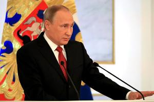 Владимир Путин ©Фото пресс-службы президента РФ