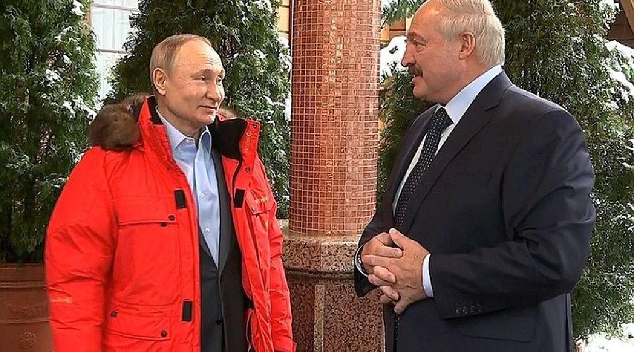 Владимир Путин и Александр Лукашенко ©Фото пресс-службы Кремля