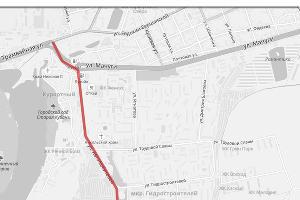 Предварительная схема продления трамвайной линии от улицы Трамвайной в микрорайон Гидростроителей ©https://krd.ru/novosti/glavnye-novosti/news_30072018_133032.html