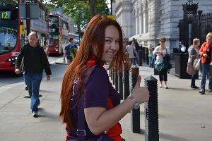 """Волонтеры """"Сочи-2014"""" в Лондоне ©Фото Юга.ру"""
