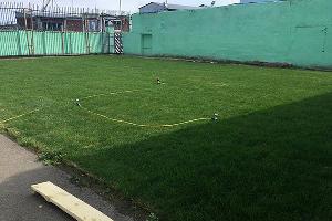 Поле для мини-футбола в колонии ©Фото с сайта 61.фсин.рф