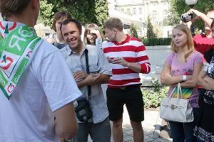 """Встреча кандидатов в ЗСК Кубани от партии """"Яблоко"""" с избирателями ©Фото Юга.ру"""