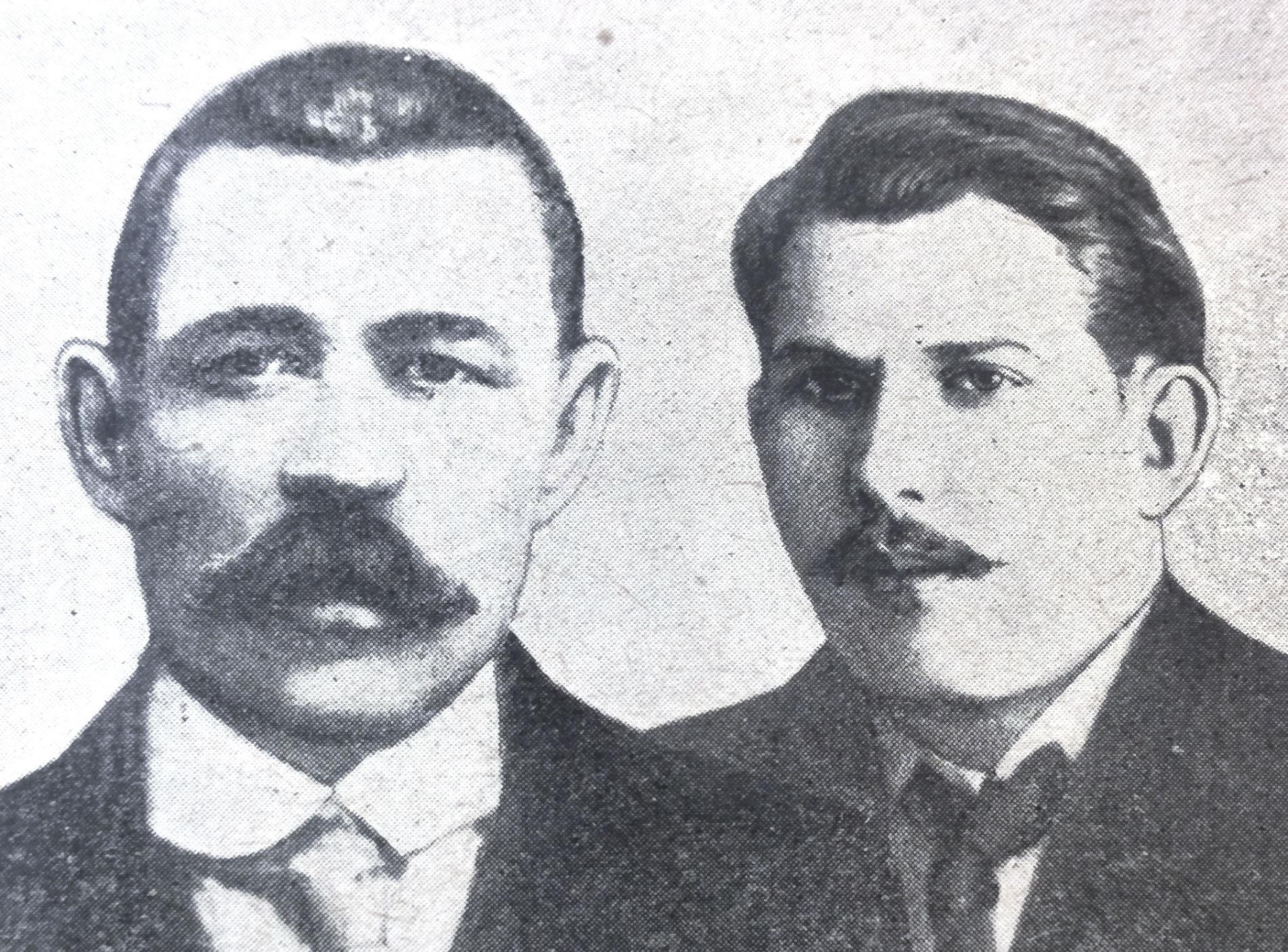 Митрофан и Глеб Седины