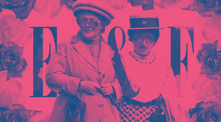 Клара Цеткин и Роза Люксембург ©Коллаж Дмитрия Филиппова, Юга.ру