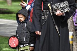Парад казаков в Краснодаре ©Фото Елены Синеок, Юга.ру